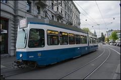 Línea 15 (pedroromerocardenas) Tags: suiza zurich linea 15 tranvía tram street d3400 transport
