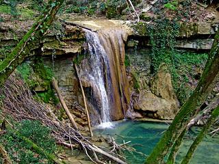 Waterfall on Pasjak