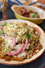 Chilaquiles (jpellgen (@1179_jp)) Tags: food foodporn dinner lunch nikon sigma 1770mm d7200 spring june summer stpaul saintpaul downtown twincities midwest usa america mn minnesota chilaquiles chips egg eggs borough parlour