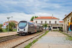 07 juin 2018  AMG 806  Train 6 Ajaccio -> Bastia  Ajaccio (2A) (Anthony Q) Tags: ajaccio corse france 07 juin 2018 amg 806 train 6 bastia 2a cfc ferroviaire corsedusud