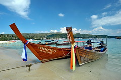 Phi phi island (meren34) Tags: phiphi island thailand sea travel tour andaman boat tie colors blue sky thai beach sand