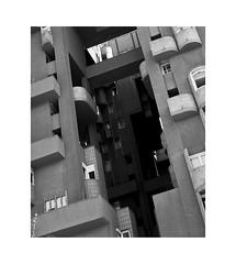 Walden 7 1 (2 Marvelous 4 Words (Blanca Gomez)) Tags: barcelona bcn spain walden7 apartments houses housing arquitectura architecture bw blackwhite ricardobofill santjustdesvern 18towers towers labyrinth