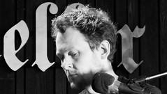 Event Horizon June 2018 03 (byronv2) Tags: eventhorizon shorelineofinfinity edinburgh edimbourg literature books poetry sciencefiction georgeivbridge frankensteins portrait june june2018 music man blackandwhite blackwhite bw monochrome author writing livre reverseengineer