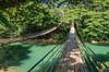 Double Bamboo Bridge (pietkagab) Tags: bamboo bridge double hanging water river forest bohol philippines asia asian southeast green day daylight pietkagab photography pentax pentaxk5ii piotrgaborek travel trip tourism sightseeing adventure nature