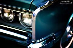 Clean 300 (Hi-Fi Fotos) Tags: chrysler 300 vintage mopar luxury car classiccar large boat chrome blue headlight front nikkor 50mm 14 nikon d7200 dx hififotos hallewell
