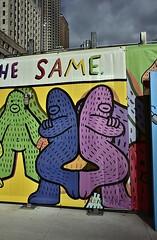"Murals Project at 2 WTC detail : Is the artist ""Frank Ape"" (sjnnyny) Tags: muralsprojectat2worldtradecenter lowermanhattan silversteinproperties nyc stevenj sjnnyny nikond750 streetart nikkor28f28ais"
