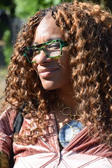 DSC_1929 Wintrade Rest and Recreation in Hyde Park London with Nicole Ross with Glasses (photographer695) Tags: wintrade rest recreation hyde park london with nicole ross glasses