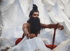 Onam Festival Display (Sharpshooter Alex) Tags: onam festival display india indian art culture man beard male asia kerala hindu
