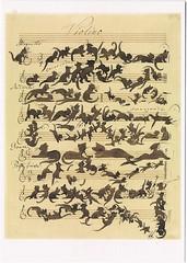"Moritz von Schwindt: ""Cat Symphony"" (chrisstonycreek) Tags: postcard illustration moritz von schwindt catsymphony germany"
