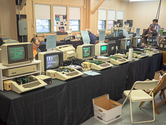 VCF East 2018 (Dave Shevett) Tags: retrocomputing newjersey vcf apple 2018 old may wall retro vintage antique computers vcfeast nj