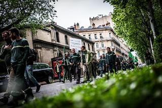 Manifestation des agents de l'ONF