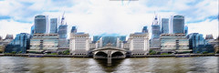 London city ... (Julie Greg) Tags: london texture river building colours fujifilm bridge sky water city tower architecture cityscape