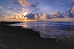 Yucatan Sunrise (canaimaman) Tags: longexposure ndfilter landscape seascape yucatan rivieramaya caribbean fuji fujixseries sunrise fujixh1 fuji1655 xf1655 morning mexico