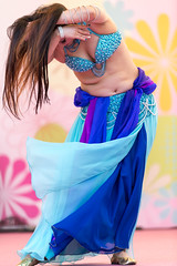 sensual (byzanceblue) Tags: samba kobe carnival bellydance dancer beautiful woman girl longhair hair bokeh japan asian japanese female cute sexy nikkor d850 colour color green portrait tree festival adorable dress straight people photo