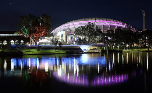 River Torrens at Night