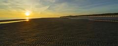 Textur / Reflexion (Norbert Reimer) Tags: netherlands sunset nature sonnenuntergang sony evening natur sea sonyalpha7 sun dämmerung beach ocean sonyalpha strand meer norbertreimer niederlande landschaft sonyvariotessartfe1635mmf4zaoss holland landscape ilce7m2 sonne burghhaamstede zeeland nl
