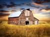 Old barn 1 (mrbillt6) Tags: landscape rural prairie barn field farm grass outdoors country countryside northdakota yextnorthdakota