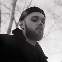 portrait (Ivan Ovchinnikov) Tags: portrait film analog kodak canoscan canon mark 9000f kiev60 kiev square face select man blackandwhite bw monochrome beard chiile ivanovchinnikov ивановчинников россия пермь