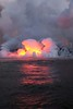 steam glow (BarryFackler) Tags: volcano kilauea steam vulcanism geology nature hawaiivolcanoesnationalpark lavaoceantours mvhotspot fissure8 lowereastriftzone lerz lava magma nationalparkservice nationalpark puna hawaii bigisland 2018 vog polynesia hawaiiisland outdoor hawaiicounty tropical sea ocean pacificocean island pacific saltwater clouds heat barryfackler barronfackler coast coastline coastal shore shoreline glow reflection