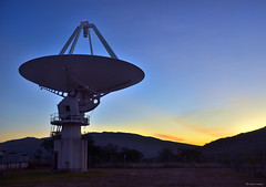 Listening... (Martin_Heigan) Tags: hartebeesthoek radio astronomy observatory hartrao southafrica science physics astrophysics electromagneticspectrum radiowaves wwwhartraoacza eveningsky universe space exploration lifelonglearning sterrekunde astronomie fisika wetenskap light microwaves terahertzwaves infrared visiblelight ultraviolet xrays gammarays technology dish hightech landscape africa sunset research clearskies kat7 kat meerkat ska skasa prototype scientific nightsky observation electromagneticmagneticspectrum cosmos