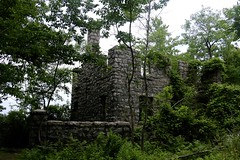 Van Slyke Castle (quiggyt4) Tags: nj newjersey wanaque ramapo ramapolake castle ruins vanslykecastle forest lake stateforest cannonballtrail oakland passaic passaiccounty passaiccountynj hike hiking bergen bergencounty ruin fire hidden trail trails overlook mountains mountain nature brick chimney occupy ows occupywallstreet ronpaul trump donald boulder rock