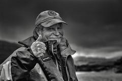 Irish boatman, Killarney (tissydavidson) Tags: irish boatman kilarney people