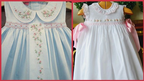 Top Beautiful Smocking Stitch Designs For Baby Frocks//Easy Ideas