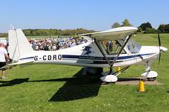 G-CDRO_01 (GH@BHD) Tags: gcdro comcoikarus ikarus c42 c42fb80 pophammicrolighttradefair2018 pophamairfield popham microlight aircraft aviation