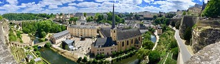 Panorama Old City of Luxembourg