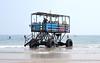 Sea Tractor III (R~P~M) Tags: devon england uk unitedkingdom greatbritain bigburyonsea burghisland coast sea seatractor vehicle beach