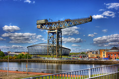 Glasgow 16 May 2018 00213.jpg (JamesPDeans.co.uk) Tags: cranes music forthemanwhohaseverything landscape concerthall objects gb printsforsale firthofclyde industry digitaldownloadsforlicence hdr transporttransportinfrastructure strathclyde sea crane unitedkingdom shore coast scotland britain river riverclyde wwwjamespdeanscouk camera jamespdeansphotography greatbritain landscapeforwalls europe uk glasgow