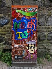 Graffiti Kunst (wb.fotografie) Tags: rheinkreisneuss neuss graffiti graffitikunst kunstanfassaden
