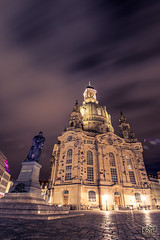Frauenkirche Dresden (saavik_85) Tags: frauenkirche dresden deutschland sachsen church saxony germany bulb exposure night