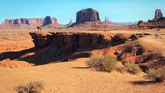 Navajo Cowboy On Horseback (dorameulman) Tags: dorameulman monumentvalley utah cowboy horse navajo landscapephotography landscape desert cliff monument nature haiku canon7dmark11 canon johnwayne