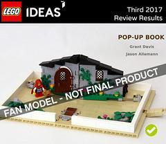 So I Guess I Am An Author Now? (Grant Davis.) Tags: lego ideas popup book set