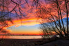 After the Sunset (kidmoses) Tags: sky burning sunset sunrise glowing lake trees water beach beautiful inspirational bestof landscape travel popular stunning nature vast serene lovely breathtaking leamington ontario canada