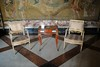 Palazzo Reale - Desk and chairs (zawtowers) Tags: naples napoli campania italy italia may 2018 summer holiday vacation break warm dry sunny palazzo reale royal palace baroque architecture built 17th century used bourbon kings residence desk chairs show floor polished clean