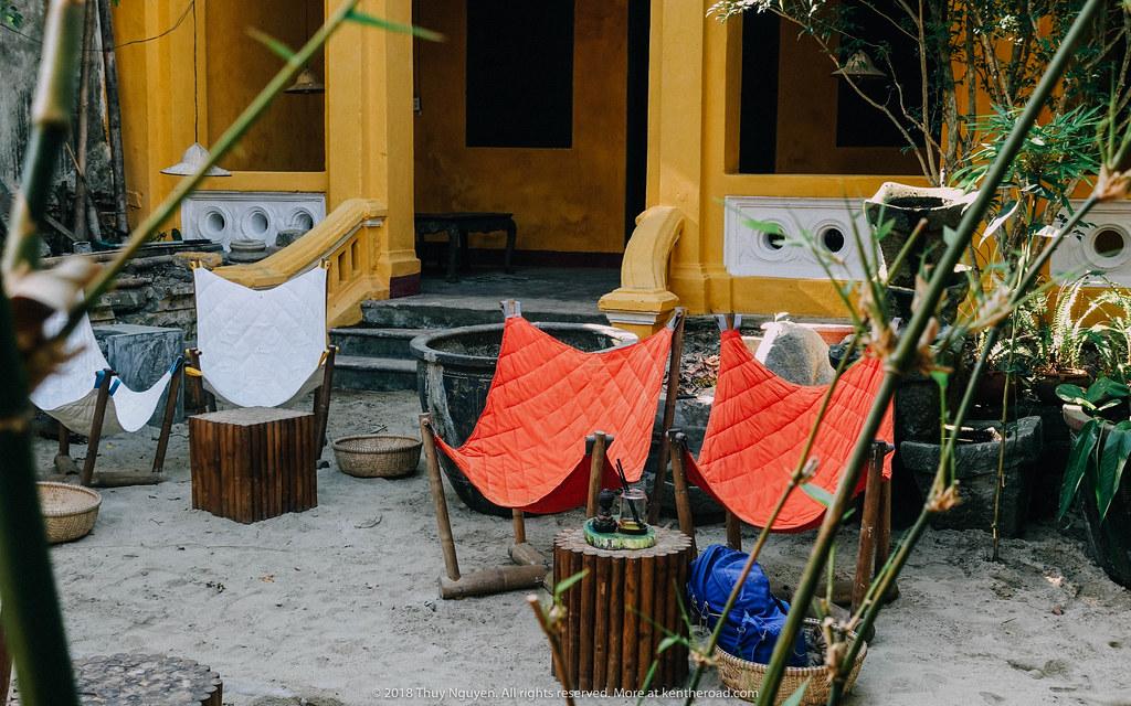 Góc vườn tại Cocobana