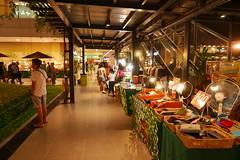 u.p. town centre (DOLCEVITALUX) Tags: uptowncentre philippines metromanila lumixlx100 panasoniclumixlx100 panasoniccameras light night stalls stores