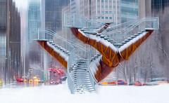Urban Artscape (Karma2c) Tags: montreal business downtownmontreal snow urbanlandscape winter