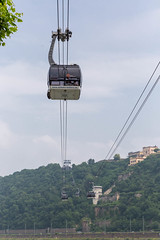 Seilbahn Koblenz (marcoverch) Tags: 2018 germany deutschland barcamp koblenz rheinlandpfalz de bcko18 seilbahn noperson keineperson sky himmel outdoors drausen travel reise high hoch transportationsystem transportsystem vehicle fahrzeug architecture diearchitektur landscape landschaft industry industrie power leistung summer sommer electricity elektrizität city stadt building gebäude water wasser hanging hängend equipment ausrüstung tourism tourismus wire draht india airport june brown outside bnw nikkor colours candy design