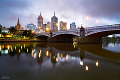 Melbourne (Bill Thoo) Tags: melbourne victoria australia princesbridge yarrariver bridge river city cityscape urban citylights lights bluehour landscape travel reflections water architecture buildings skyline sony a7rii ilce7rm2 zeiss batis 18mm