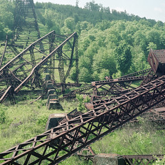 (Matt Allouf) Tags: rolleicord tlr 120 kodak portra 160 medium format color film epsonv500 pennsylvania kinzua bridge