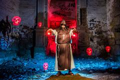 El resucitador (Yorch Seif) Tags: noche night nocturna nocturnal lightpainting longexposure largaexposicion estrellas stars d7500 tokina1116 convento monasterio monje