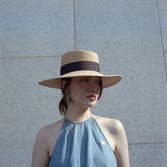 * (awnoom) Tags: hasselblad museum carlzeiss square portrait thailand film kodak portra400 analog 120mm