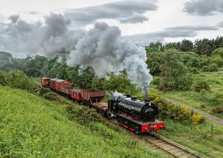 Tanfield Railway 15-6-2018