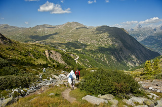 The way to The Simplon Pass . Canton of Valais, Switzerland. izakigur 22.08.12, 11:09:52. no. 6716.