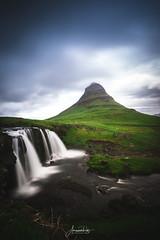Kirkjufellfoss (AmaurieRaz) Tags: iceland travel kirkjufell kirkjufelfoss waterfall mountain trip europe landscape sony sonya9 island beauty 1635mm zeiss
