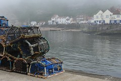 Coastal (grahamkcarter) Tags: bankholidaymonday foggy fishingharbour harbour yorkshire seaside coastal staithes