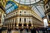 Vittorio Emanuele II - Milano (Bouhsina Photography) Tags: milan italie passage vittorio emanuele bouhsina bouhsinaphotography canon 5diii architecture perspective duomo dome